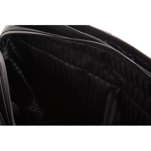 [アイエスプラス] is・+ IS+ 防水加工42cm3層ビジネスバッグ 230-1092 1 (ブラック)