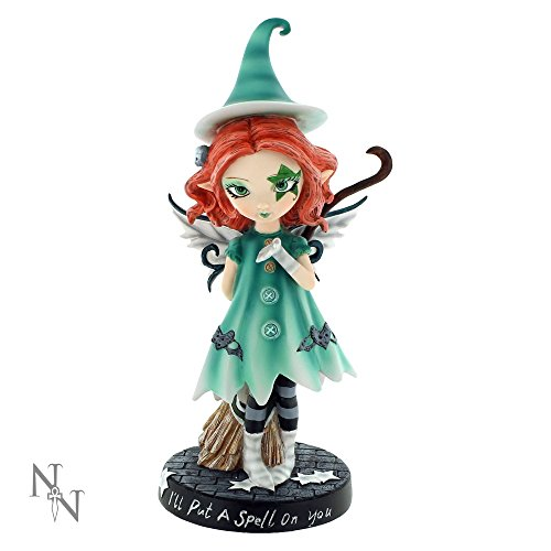 Nemesis Now - I' Ll put a spell on you strega fata figurine