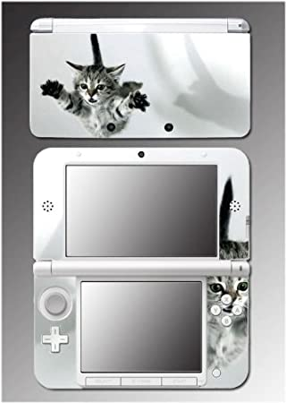 Kitten Cute Kitty Cat American Shorthair Tabby Video Game Vinyl Decal Cover Skin Protector 3 for Nintendo 3DS XL