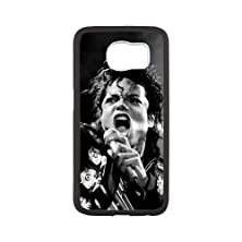 buy S6 Case, Protective Hard Rubber Gel Samsung Case Cover Skin For Samsung Galaxy S6 - Michael Jackson (S6G271)