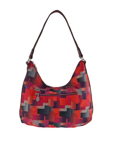 Baggallini Luggage Jessica Hobo Bag, Ombre Print, One Size
