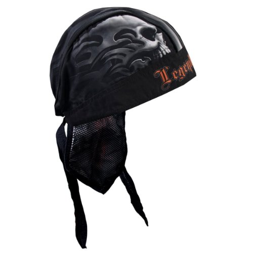 Hot Leathers SKULL FACE Biker Head Wrap