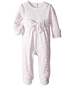 kate spade york Baby Girls Jillian Footie, Confetti Dot, 6M by Global Brands Group - Quidsi