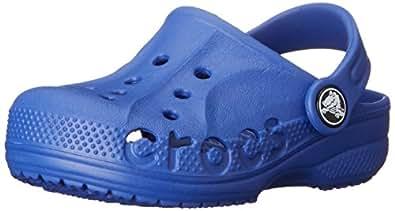 Crocs Baya Kids, Unisex Kids' Clogs, Blue (Cerulean Blue), 1 UK (32/33 EU)