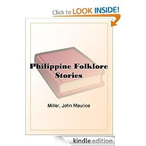 Philippine Folklore Stories John Maurice Miller