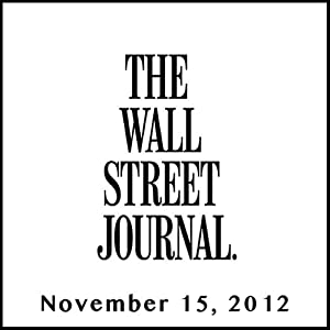 The Morning Read from The Wall Street Journal, November 15, 2012 Newspaper / Magazine