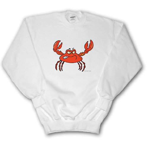 Funny Angry Crabby Red Crab - Youth SweatShirt Large(14-16)