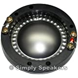 SS Audio JBL Speaker Replacement Horn Diaphragm 2425, 2425H, 2426, 2427, and many others, 8 ohm