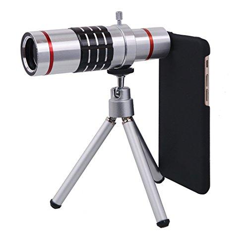 18倍望遠レンズキット 18X光学ズーム 望遠鏡 カメラレンズ 遠距離撮影 ...