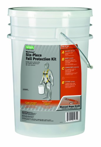 MSA Safety 10095901 Fall Protection Kit ANZI (Roof Harness Kit compare prices)