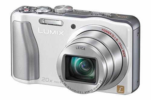 """Panasonic DMC-TZ31EG-W Appareil photo numérique 14 mégapixels, zoom optique 20 x, écran 7,5 cm (3""""), stabilisateur d'image (Blanc) (Import Allemagne)"""