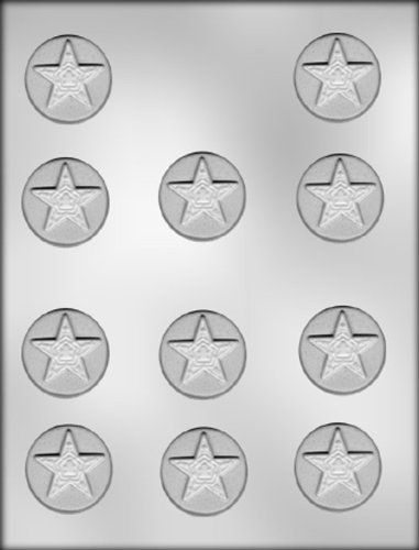 CK Products 3-Inch Starfish Chocolate Mold