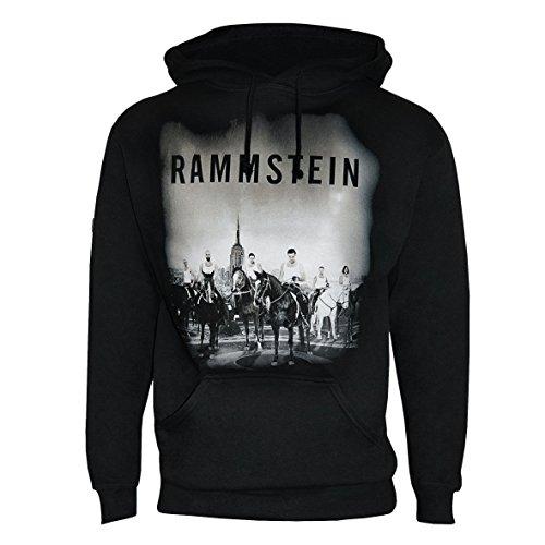 """Rammstein, Felpa con cappuccio """"Ross und Reiter"""" (XXL)"""