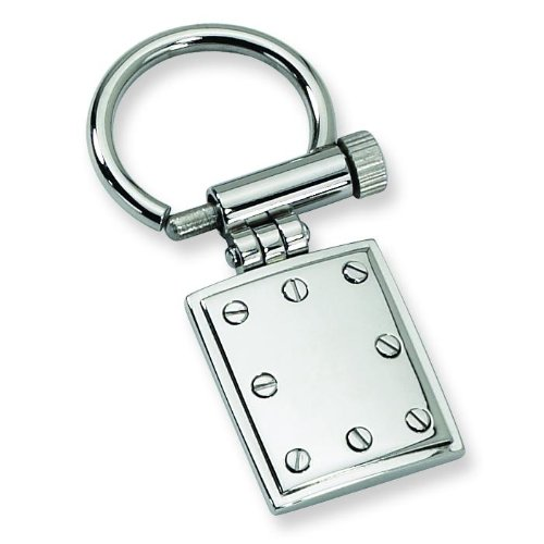 Chisel Stainless Steel Keychain