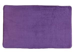 "Purple New Ultra Absorbent Memory Foam Bathroom Bath Mat/Rug Slip Resistant 21""x34"""