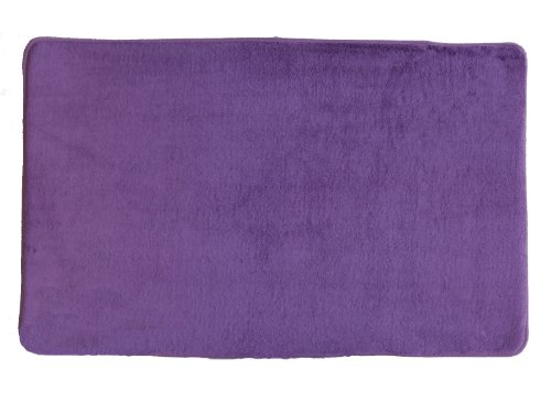 "Purple New Ultra Absorbent Memory Foam Bathroom Bath Mat/Rug Slip Resistant 21""x34"""