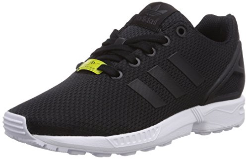 adidas - Zx Flux, sneakers  da unisex bambino, nero(schwarz (black/black/ftwr white)), 40