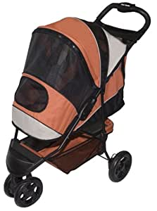 Amazon.com : Pet Gear Sportster Pet Stroller for cats and ...