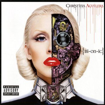 Original album cover of BIONIC by Christina Aguilera