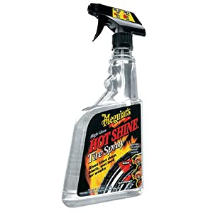 Meguiar's G-12024 Hot Shine High Gloss Tire Spray. 24 oz.