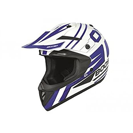 Casque boost b690 force 01 blanc/bleu m - Boost 433514M