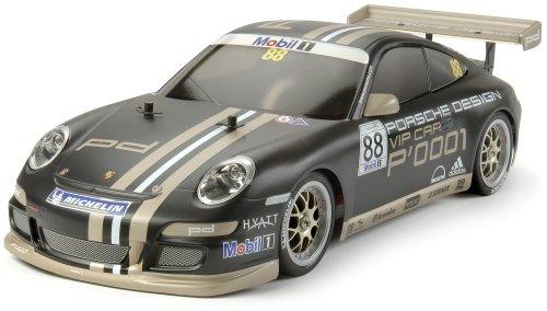 Tamiya 01:10 electric street model car Porsche 911 GT3 Cup 2007 4WD TT-01E Kit