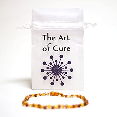 The Art of Cure Baltic Amber Teething Necklace by The Art of Cure