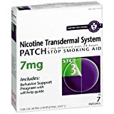 NICOTINE TRANSFER PATCH 7MG NOVAR 7 EACH