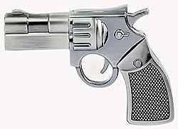 16 GB Pen Drive Sliver Color Revolver Shape USB 2.0 Pen Drive MT1031