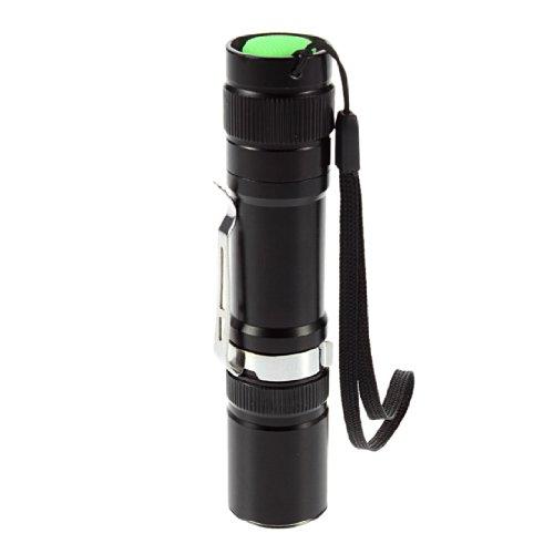 1600 Lumen Zoomable Cree Xm-L T6 Led 18650 Diving Flashlight Aluminum 100% Hs