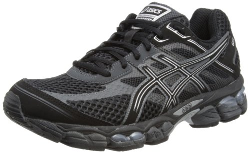 Asics Mens Gel-Cumulus 15 M Black/Onyx/Charcoal Running Shoes T3C0N 9099 13 UK, 49 EU