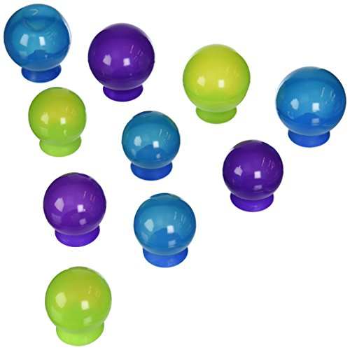 Boon Bubbles Suction Cup Bath Toys, Blue