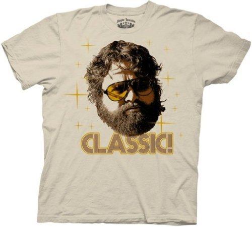 Old Glory Mens The HangoverClassic! Soft T-Shirt / Tan - X-Large Tan