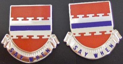 226th ENG BATALLION Distinctive Unit Insignia - Pair