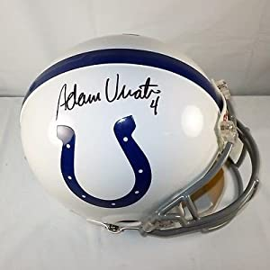 Adam Vinatieri Indianapolis Colts Signed Authentic Riddell Helmet Vinatieri COA by Your Sports Memorabilia Store
