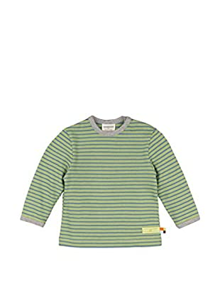 loud + proud Camiseta Manga Larga (Verde)