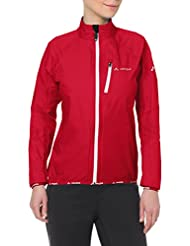 Vaude Drop III rain jacket womens Ladies red Size 36 2014
