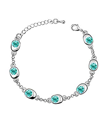 Celebrity Jewelry Lucky Waltz Fashion Swarovski Elements Austrian Crystal Bracelet for Women Gift