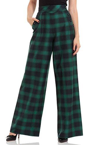 Voodoo Vixen -  Pantaloni  - Donna verde M