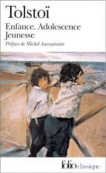 Enfance, adolescence, jeunesse par Tolstoï