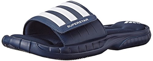 Adidas Performance Men'S Superstar 3G Slide Sandal, Collegiate Navy/White/White, 9 M Us back-147828