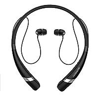 COULAX Bluetooth イヤホン ネックバンド式 防水 ランニング用スポーツイヤホン CVC6.0ノイズキャンセリング 高音質 ハンズフリー通話可能 ワイヤレス イヤホン iPhone 6S、sony、Android スマートフォンなどに対応