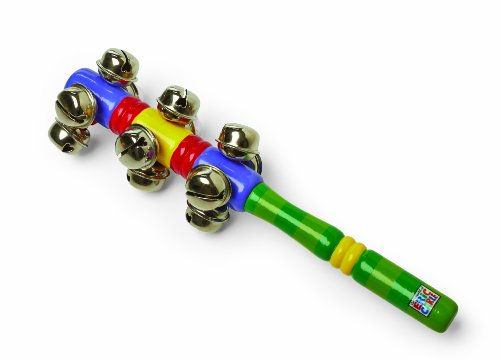 World of Eric Carle, Wood Rhythm Bells Stick by Kids Preferred