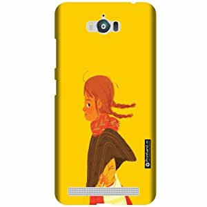 Printland Designer Back Cover For Asus Zenfone Max ZC550KL - No Smoke Cases Cover