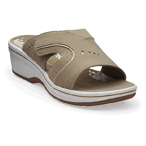 Women's Clarks DAISY SPROUT Beach Slip On Slide Sandals