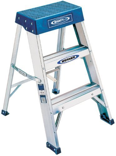Cheap Werner 150b 300 Pound Duty Rating Aluminum Step