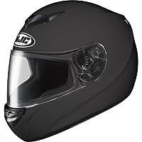 HJC Solid Men's CS-R2 On-Road Motorcycle Helmet - Matte Black / Medium by HJC