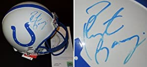 Peyton Manning Autographed Hand Signed Indianapolis Colts Authentic Full Size Riddell... by Real Deal Memorabilia
