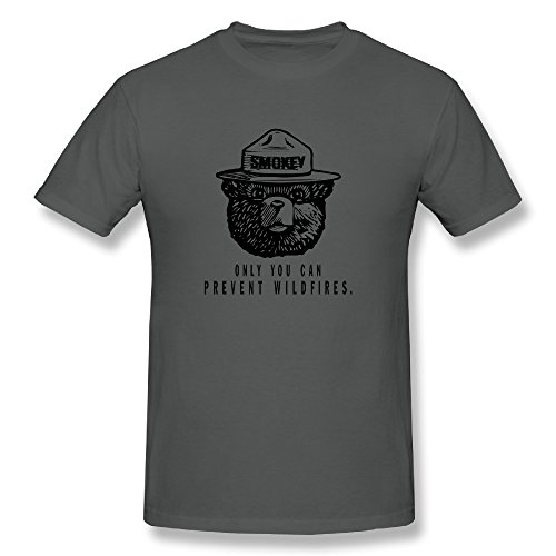 [Sunflower Men Tshirts Cool Only You Can Prevent Wildfires DeepHeather SizeS] (Bambis Mom Halloween Costume)