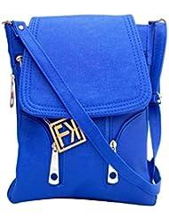 Fashion Knockout Blue Sleek Extendable Sling Bag
